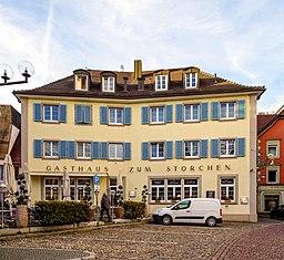 Schwabentorplatz in Freiburg im Breisgau