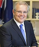 Portrait photo of Prime Minister Scott Morrison