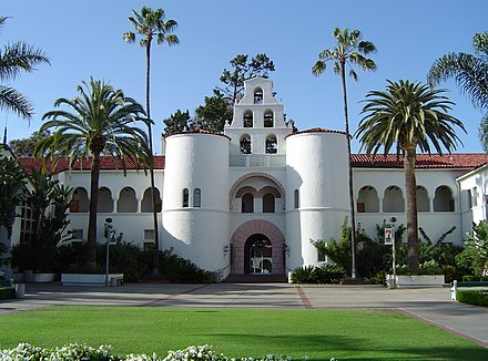 A Landmark Architecture Hepner Hall Featured In The Schools Logo