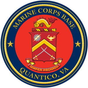 Marine Corps Base Quantico - Image: Seal of Marine Corps Base Quantico
