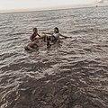 Sebelum berenang kami melakukan pemebersihan disekitaaran pantai dan kami menemukan banyak plastik yang mana iti sangat berbahaya bagi kehidupan laut. Bayangkan kalo ikan-ikan makan plastik itu ..yuk bersihkan laut kita.jpg