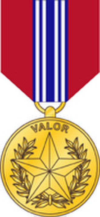Department of the Army Civilian Awards - Image: Sec of the Army Medal for Valor