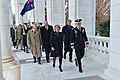 Secretaries Kerry, Hagel and Australian Ministers Bishop, Johnston Walk to the Tomb of the Unknown Soldier (10964130666).jpg