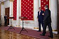 Secretary Kerry and Russian Foreign Minister Lavrov Chat Before Their Joint News Conference in Moscow (25412619323).jpg