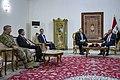 Secretary Pompeo Meets with Iraqi President Barham Salih (32855561137).jpg