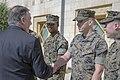 Secretary Pompeo Thanks U.S. Marine Security Guards at U.S. Embassy Jordan (41757649612).jpg