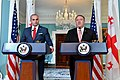 Secretary Pompeo and Georgian Prime Minister Bakhtadze Deliver Statements to the Press (48044853856).jpg