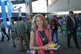 Debra Bowen - Bowen at the 2011 Democratic Party of California state convention