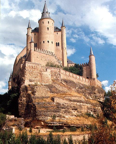 The Alcazar in Spain
