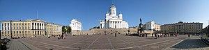 Helsinki Senate Square - Image: Senate Square Senaatintori Senatstorget, Helsinki, Finland