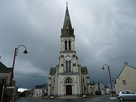 The church in Senonnes