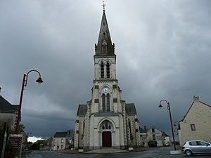 Senonnes - The church in Senonnes