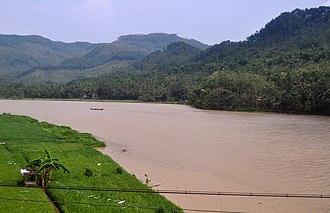 Serayu River - Serayu river at Kebasen, Banyumas