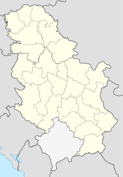 นีช is located in Serbia