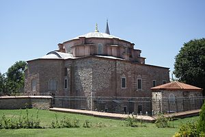 Little Hagia Sophia - Northeast (rear) view of Little Hagia Sophia in 2013