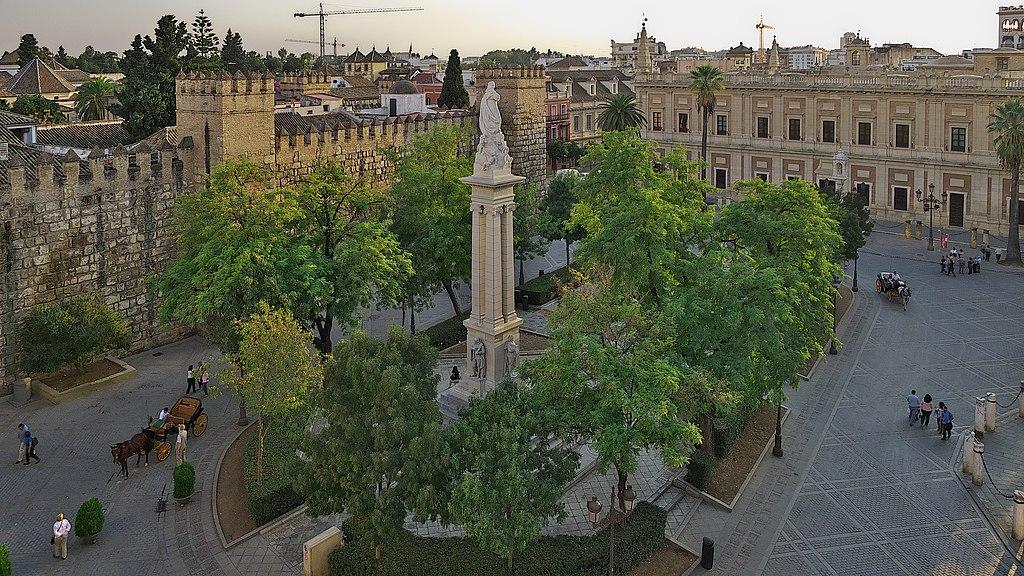 Place du triomphe à Séville - Photo de José Luis Filpo Cabana