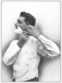 Shaving Made Easy, 1905 - Shaving the left side.png