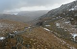 Shelter at the top of Nan Bield Pass (geograph 4296076).jpg