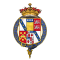 Shield of arms of Edward Smith-Stanley, 13th Earl of Derby, KG.png