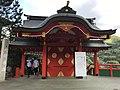 Shimmon Gate of Taikodani Inari Shrine from inner side.jpg