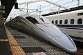 Shinkansen and Himeji Station M9 50.jpg