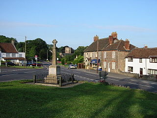 Shipham village in the United Kingdom