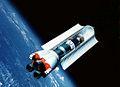 Shuttle-C with open Cargo doors in earth orbit.jpg