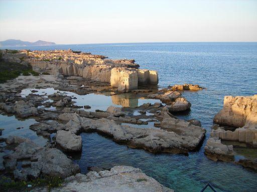 Sicily - Favignana - Cala Rossa