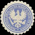 Siegelmarke Adjutantur Sr. K.H. des Prinzen Heinrich von Preussen W0351937.jpg