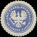 Siegelmarke Amt Französisch Buchholz Kreis Nieder-Barnim W0345527.jpg