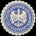 Siegelmarke K.Pr. Landrath des Kreises Northeim W0352154.jpg