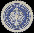 Siegelmarke K. Marine Kommando S.M.S. Niobe W0357606.jpg