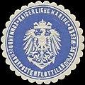 Siegelmarke K. Marine Kommando der Vorpostenflottille der Jade-Weser W0337704.jpg
