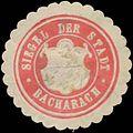 Siegelmarke Siegel der Stadt Bacharach W0383994.jpg
