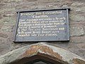 Sign above the almshouses, Bromyard - geograph.org.uk - 807146.jpg