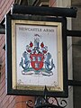 Sign for The Newcastle Arms, St. Andrew's Street, NE1 - geograph.org.uk - 1890112.jpg