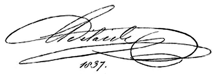 Adelaide of Saxe-Meiningen's signature
