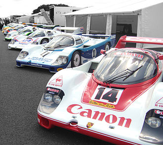 Porsche 956 - Four customer Porsche 956s.