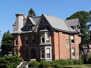 National Register of Historic Places listings in Manistee County, Michigan - Image: Simeon Babcock House