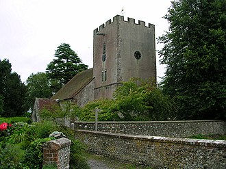 Singleton, West Sussex - Church of the blessed Virgin Mary.