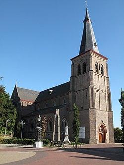 Sint Huibrechts-Lille, Sint Mondulphus en Gondulphuskerk foto1 2009-08-31 17.02.JPG
