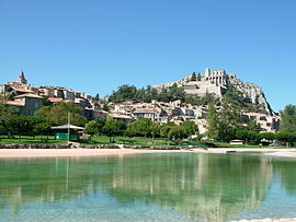 Sisteron France Map.Sisteron Wikipedia