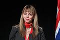 Siv Fridleifsdottir Framsoknarflokkurinn (F) Island. Nordiska radets session i Reykjavik 2010 (1).jpg