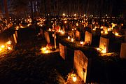 Skogskyrkogården at All Saints Day 2010-1.jpg