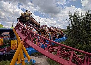 roller coaster at Disney