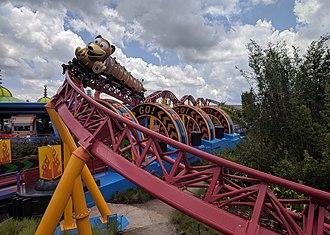 Slinky Dog Dash - Image: Slinky Dog Dash (29262611338) (cropped)