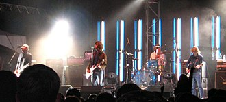 Sloan (band) - Sloan performing at Olympic Island in Toronto, Ontario, 2004