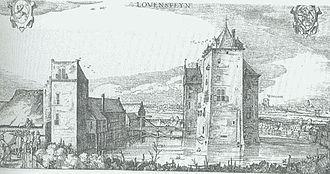Loevestein Castle - Image: Slot loevestein 1621
