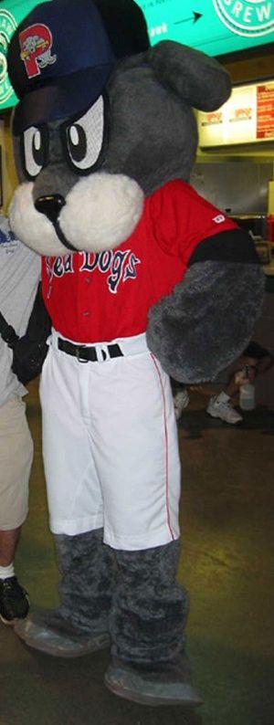 Portland Sea Dogs - Slugger the Sea Dog, the team mascot
