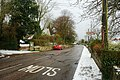 Snow on Ventnor Road, Whitwell.JPG